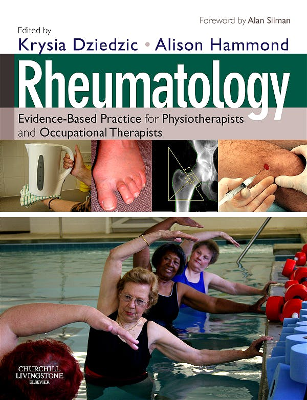 Portada del libro 9780443069345 Rheumatology. Evidence-Based Practice for Physiotherapists and Occupational Therapists