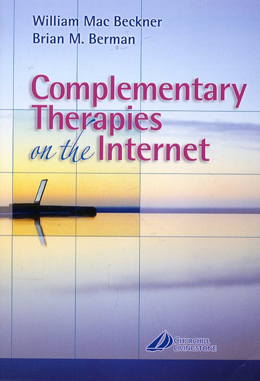 Portada del libro 9780443070679 Complementary Therapies on the Internet + Cd-Rom
