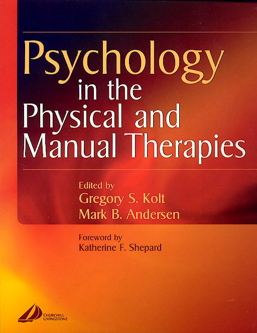 Portada del libro 9780443073526 Psychology in the Physical and Manual Therapies