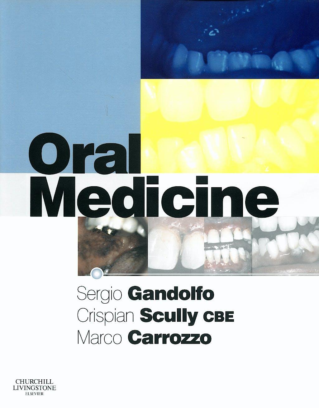 Portada del libro 9780443100376 Oral Medicine
