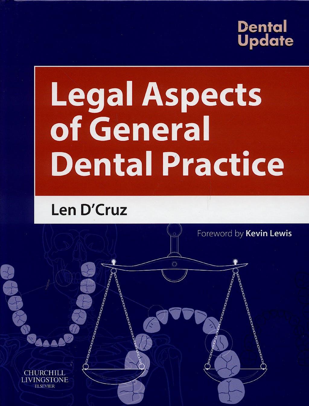 Portada del libro 9780443100383 Legal Aspects of General Dental Practice
