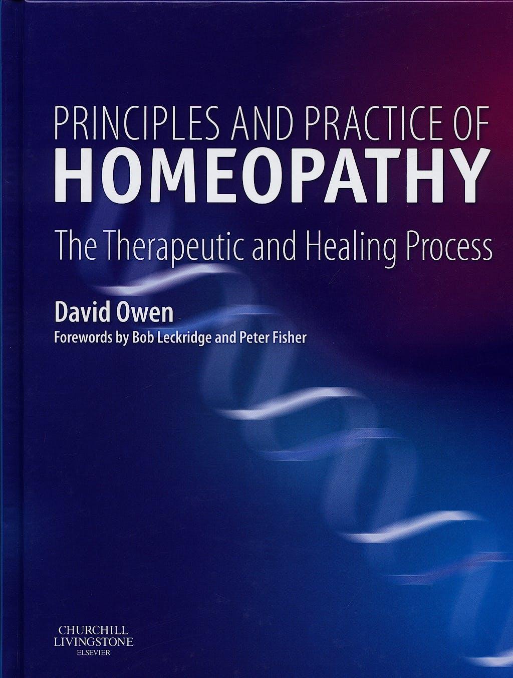 Portada del libro 9780443100895 Principls and Practice of Homeopathy