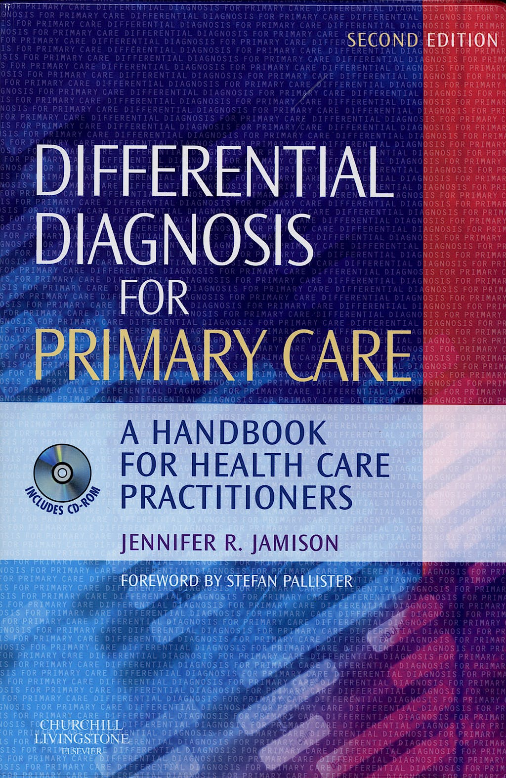 Portada del libro 9780443102875 Differential Diagnosis for Primary Care