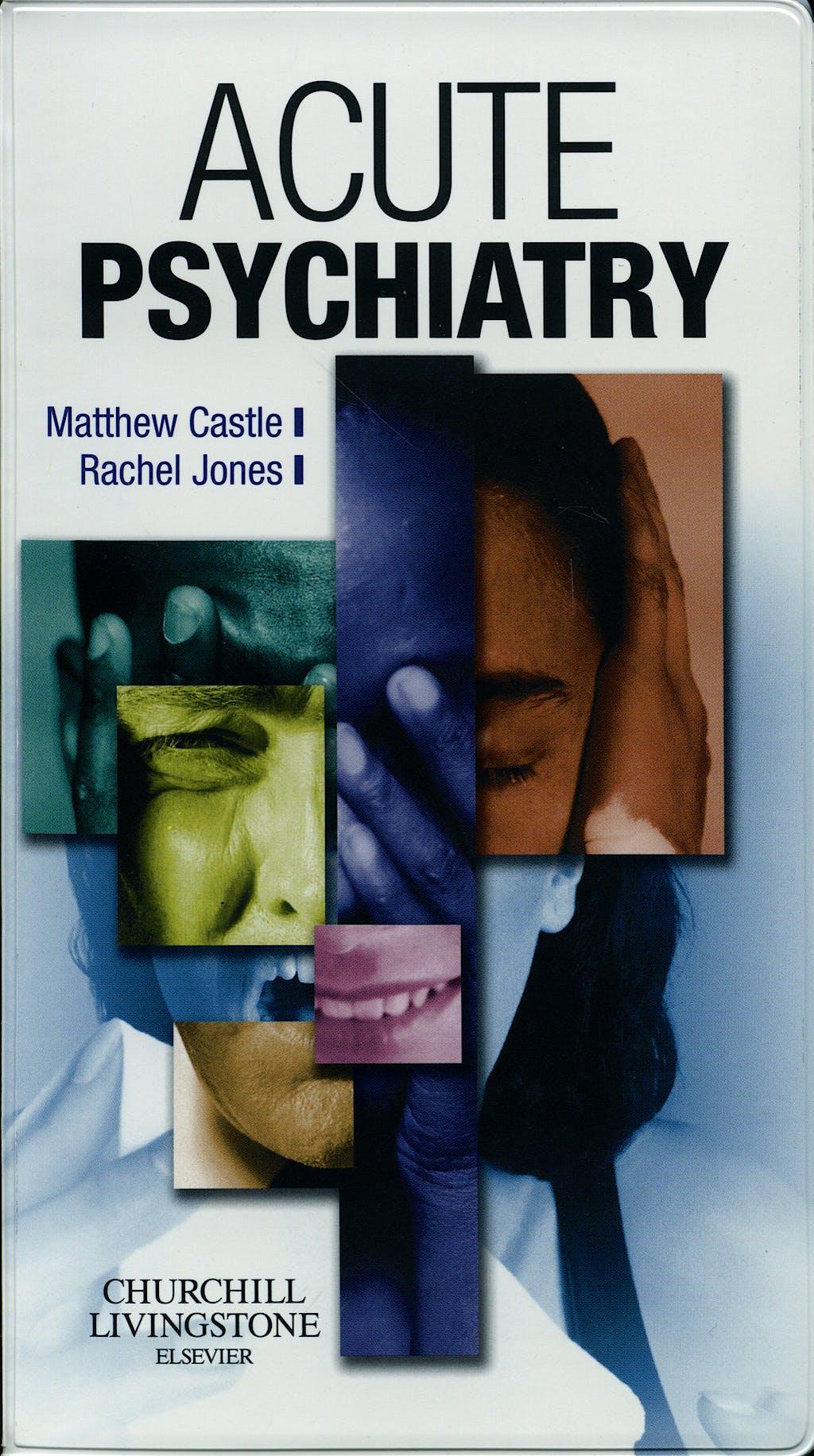 Portada del libro 9780443103056 Acute Psychiatry