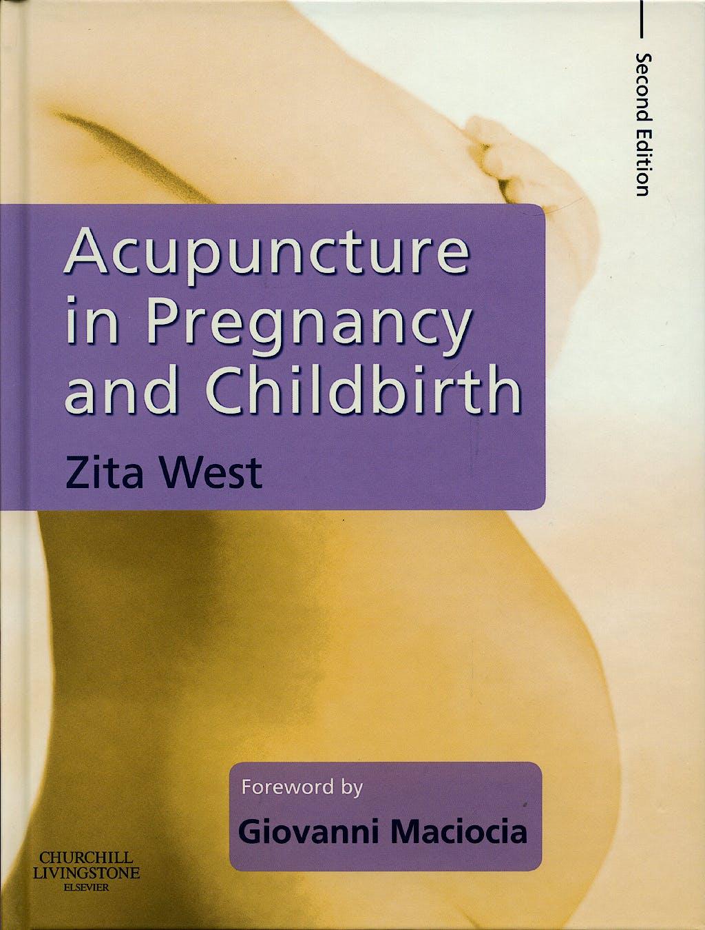 Portada del libro 9780443103711 Acupuncture in Pregnancy and Childbirth
