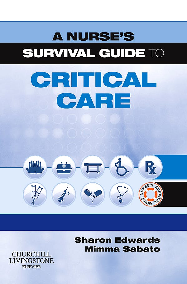 Portada del libro 9780443104176 A Nurse's Survival Guide to Critical Care