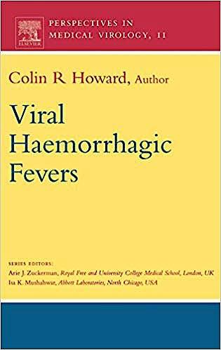 Portada del libro 9780444506603 Viral Haemorrhagic Fevers, Vol. 11