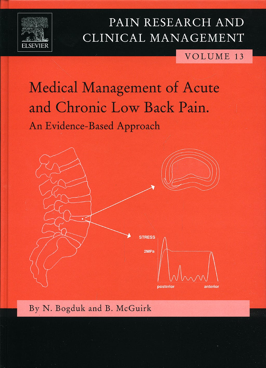 Portada del libro 9780444508454 Medical Management of Acute and Chronic Low Back Pain