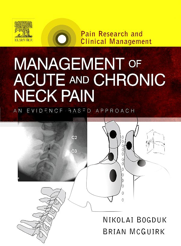 Portada del libro 9780444508461 Management of Acute and Chronic Neck Pain