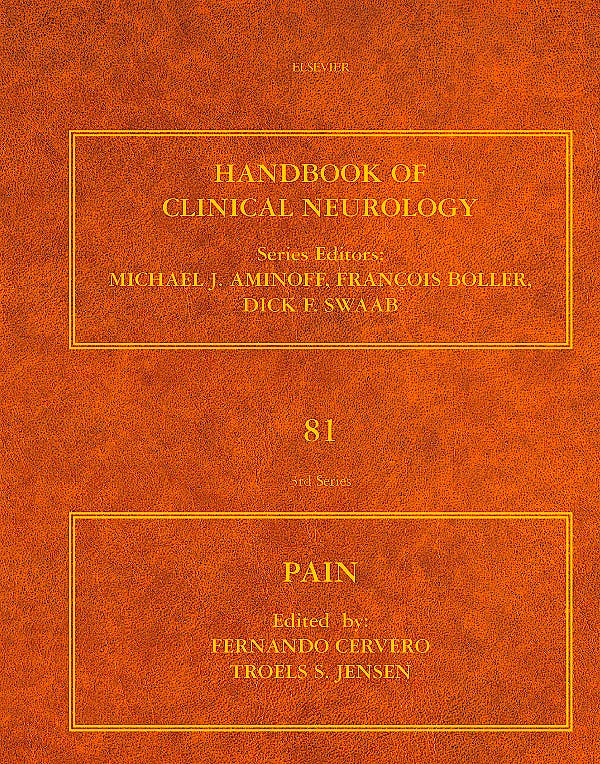 Portada del libro 9780444519016 Handbook of Clinical Neurology, Vol. 81: Pain