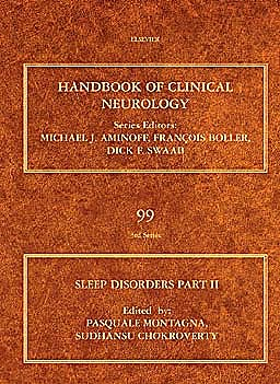 Portada del libro 9780444520074 Handbook of Clinical Neurology, Vol. 99: Sleep Disorders Part II