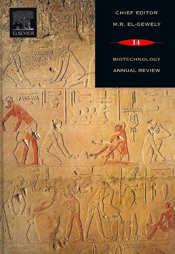 Portada del libro 9780444532268 Biotechnology Annual Review Volume 14