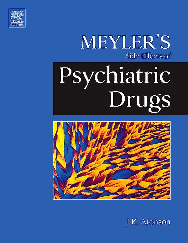 Portada del libro 9780444532664 Meyler's Side Effects of Psychiatric Drugs