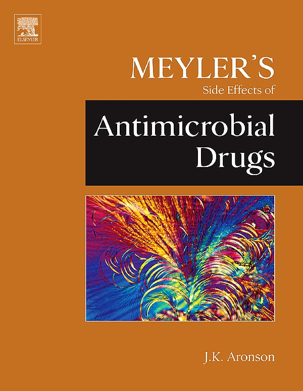 Portada del libro 9780444532725 Meyler's Side Effects of Antimicrobial Drugs