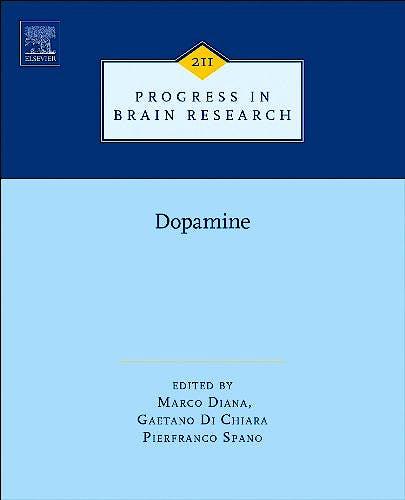 Portada del libro 9780444634252 Dopamine (Progress in Brain Research, Vol. 211)
