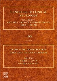 Portada del libro 9780444640321 Clinical Neurophysiology. Basis and Technical Aspects (Handbook of Clinical Neurology, Vol. 160)