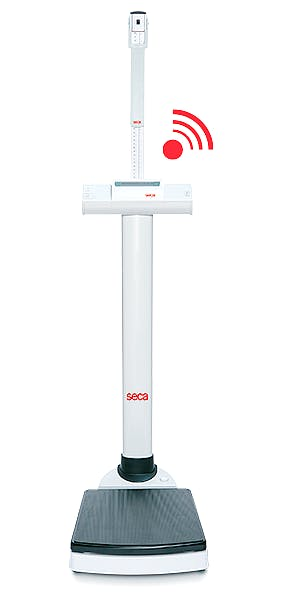 Báscula Electrónica de Columna SECA Mod. 769 con Tallímetro SECA Mod. 220