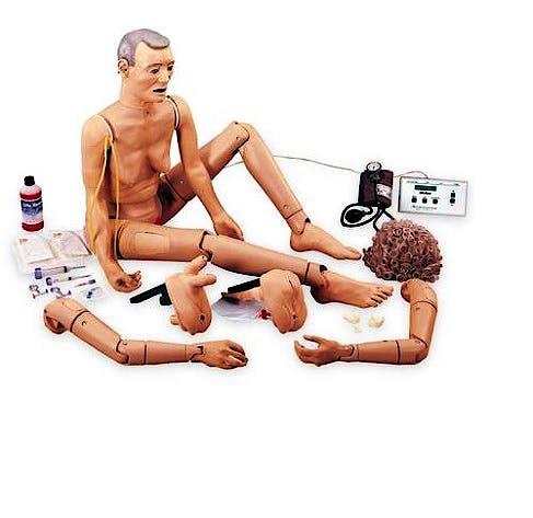 Simulador para Cuidado del Paciente Geriatrico Iii (Modelo Avanzado)