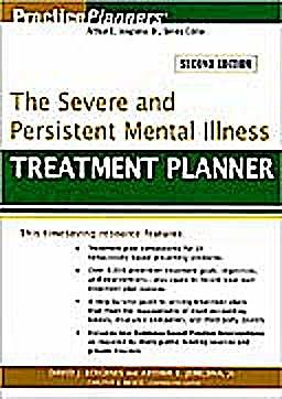 Portada del libro 9780470180136 The Severe and Persistent Mental Illness Treatment Planner
