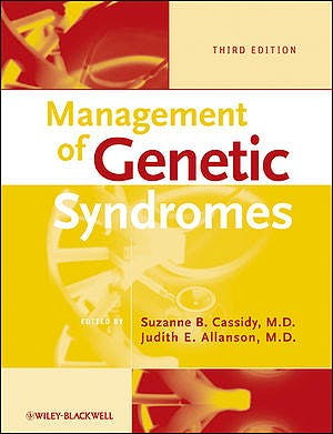 Portada del libro 9780470191415 Management of Genetic Syndromes
