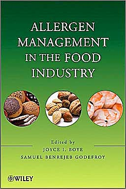 Portada del libro 9780470227350 Allergen Management in the Food Industry