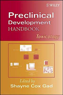 Portada del libro 9780470248461 Preclinical Development Handbook: Toxicology