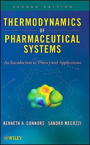 Portada del libro 9780470425121 Thermodynamics of Pharmaceutical Systems. an Introduction to Theory and Applications