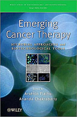 Portada del libro 9780470444672 Emerging Cancer Therapy: Microbial Approaches and Biotechnological Tools