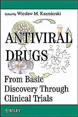 Portada del libro 9780470455630 Antiviral Drugs. from Basic Discovery through Clinical Trials