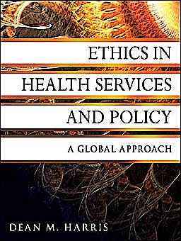 Portada del libro 9780470531068 Ethics in Health Services and Policy. a Global Approach