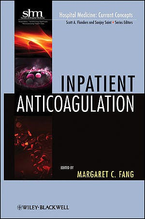 Portada del libro 9780470602119 Inpatient Anticoagulation