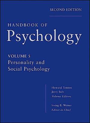 Portada del libro 9780470647769 Handbook of Psychology, Vol. 5: Personality and Social Psychology