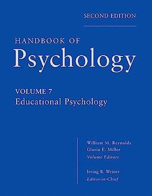 Portada del libro 9780470647776 Handbook of Psychology, Vol. 7: Educational Psychology