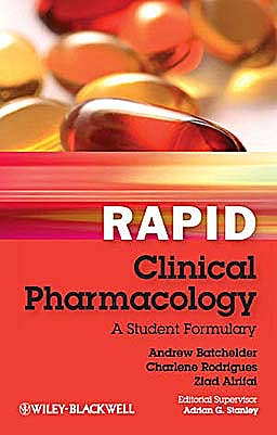 Portada del libro 9780470654415 Rapid Clinical Pharmacology. a Student Formulary