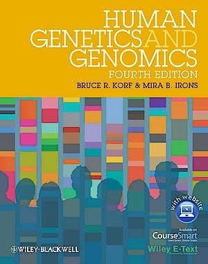 Portada del libro 9780470654477 Human Genetics and Genomics + Online Access