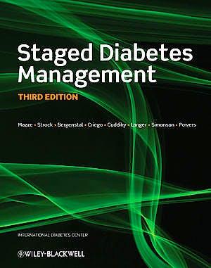 Portada del libro 9780470654668 Staged Diabetes Management