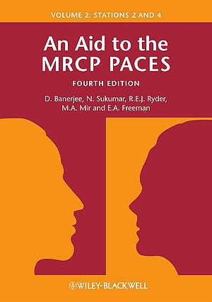 Portada del libro 9780470655184 An Aid to the Mrcp Paces: V. 2: Stations 2 and 4