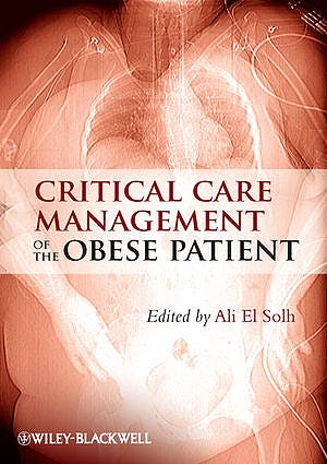 Portada del libro 9780470655900 Critical Care Management of the Obese Patient