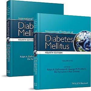 Portada del libro 9780470658611 International Textbook of Diabetes Mellitus, 2 Vols.