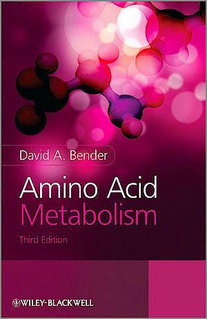 Portada del libro 9780470661512 Amino Acid Metabolism