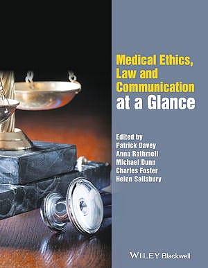 Portada del libro 9780470670644 Medical Ethics, Law and Communication at a Glance
