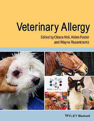 Portada del libro 9780470672419 Veterinary Allergy
