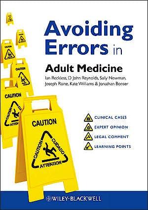 Portada del libro 9780470674383 Avoiding Errors in Adult Medicine