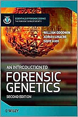 Portada del libro 9780470710180 An Introduction to Forensic Genetics (Hardcover)