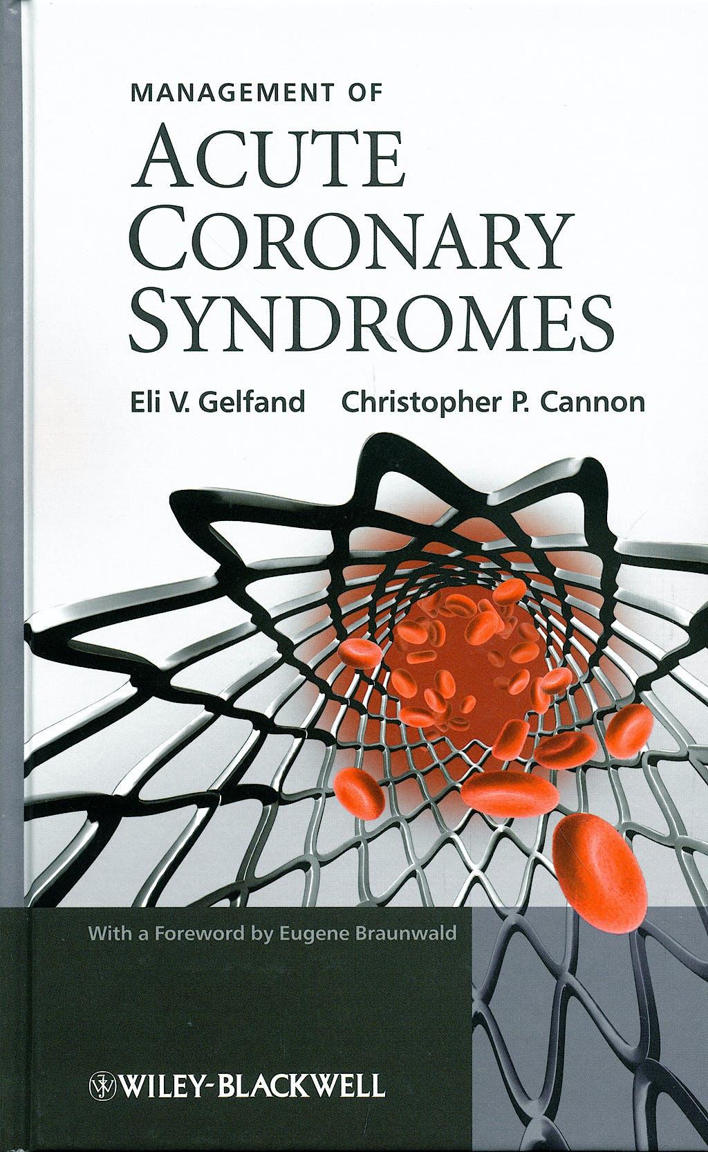 Portada del libro 9780470725573 Management of Acute Coronary Syndromes