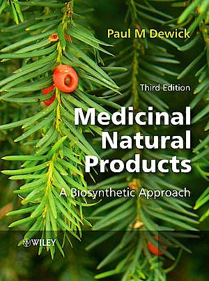 Portada del libro 9780470741689 Medicinal Natural Products: A Biosynthetic Approach (Hardcover)