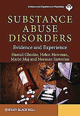 Portada del libro 9780470745106 Substance Abuse Disorders. Evidence and Experience