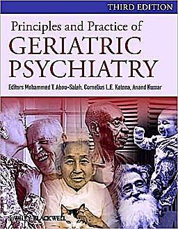 Portada del libro 9780470747230 Principles and Practice of Geriatric Psychiatry