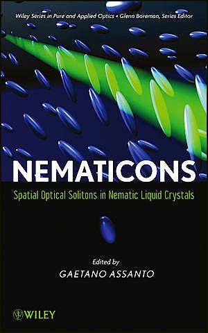 Portada del libro 9780470907245 Nematicons. Spatial Optical Solitons in Nematic Liquid Crystals