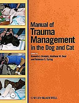 Portada del libro 9780470958315 Manual of Trauma Management of the Dog and Cat